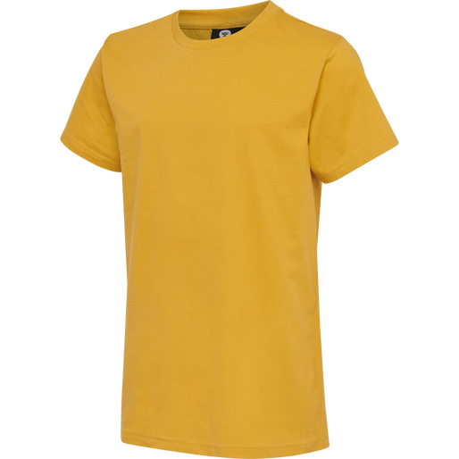 hmlPETER T-SHIRT S/S, GOLDEN ROD, packshot