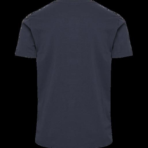 hmlSIGGE T-SHIRT S/S, BLACK IRIS, packshot