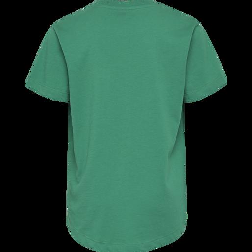 hmlTORBEN T-SHIRT S/S, DEEP GREEN, packshot