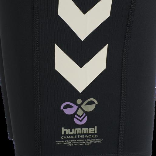 hmlMACI CYCLING SHORTS, BLACK, packshot
