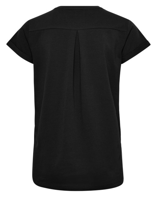 HMLISOBELLA T-SHIRT S/S, BLACK, packshot