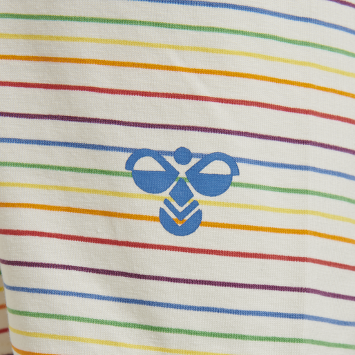 hmlRAINBOW SHORTS, WHISPER WHITE, packshot