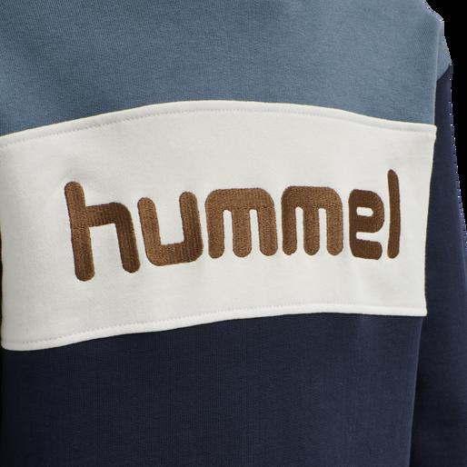 hmlMORTEN HOODIE, CHINA BLUE, packshot