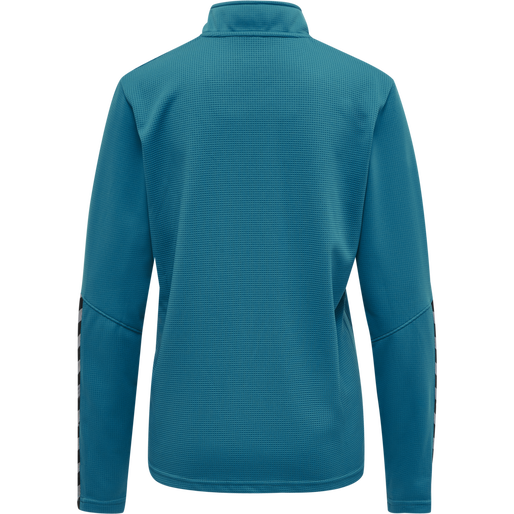hmlAUTHENTIC HALF ZIP SWEATSHIRT WOMAN, CELESTIAL, packshot