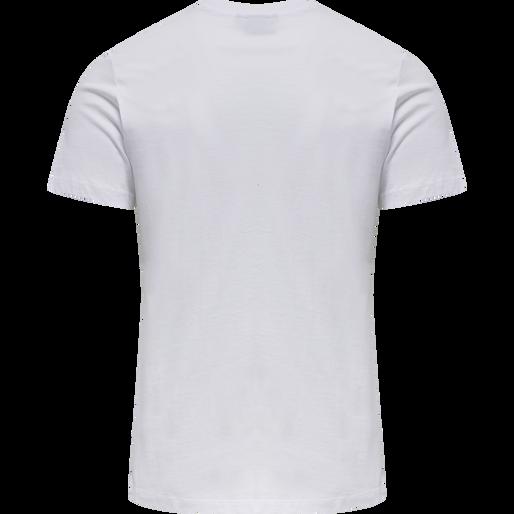 hmlLIMO T-SHIRT, WHITE, packshot