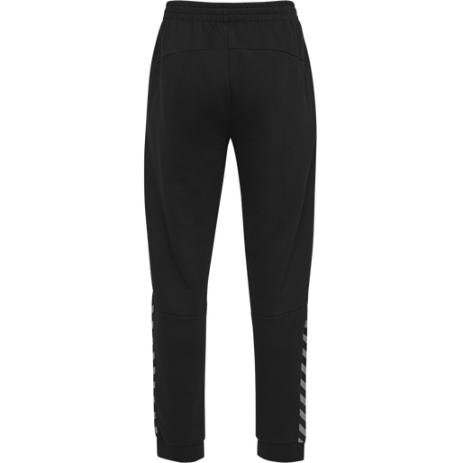 hmlAUTHENTIC SWEAT PANT, BLACK/WHITE, packshot