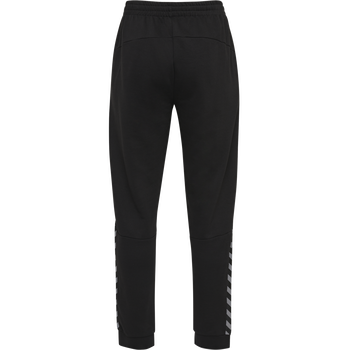 hmlAUTHENTIC KIDS SWEAT PANT, BLACK/WHITE, packshot