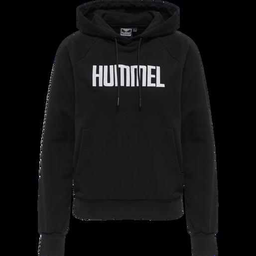 hmlSIMONE HOODIE, BLACK, packshot