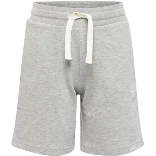 HMLBASSIM SHORTS, GREY MELANGE, packshot