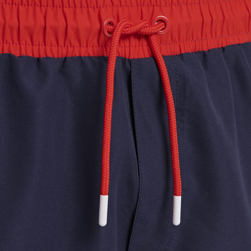 hmlNOLAN BOARD SHORTS, HIGH RISK RED, packshot