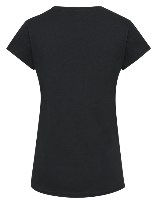 hmlCEDAR T-SHIRT S/S, BLACK, packshot