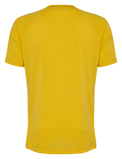 TECH MOVE KIDS JERSEY S/S, SPORTS YELLOW, packshot