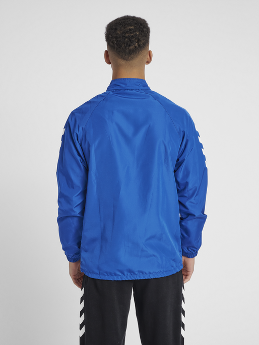 CORE MICRO ZIP JACKET, TRUE BLUE, model