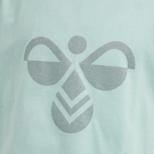 hmlDIEZ T-SHIRT S/S, BLUE TINT, packshot