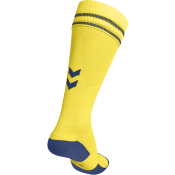 ELEMENT FOOTBALL SOCK , SPORTS YELLOW/TRUE BLUE, packshot