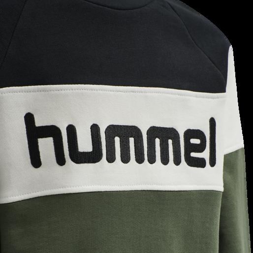 hmlCLAES SWEATSHIRT, THYME, packshot