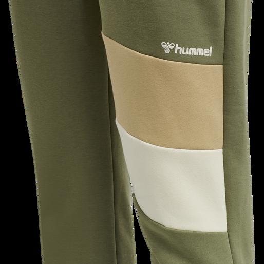 hmlAIDAN REGULAR PANTS, BURNT OLIVE , packshot