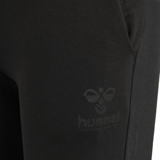 hmlNONI REGULAR PANTS, BLACK, packshot