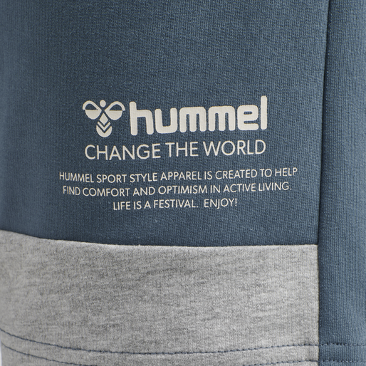 hmlCONNOR SHORTS, CHINA BLUE, packshot