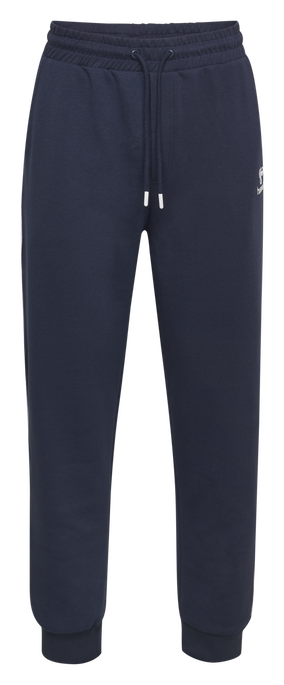 hmlLAYTON REGULAR PANTS, BLACK IRIS, packshot