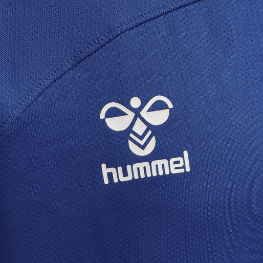 hmlLEAD HALF ZIP, TRUE BLUE, packshot