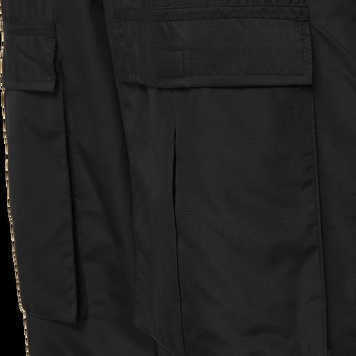 hmlSURFER OVERSIZED PANTS, BLACK, packshot