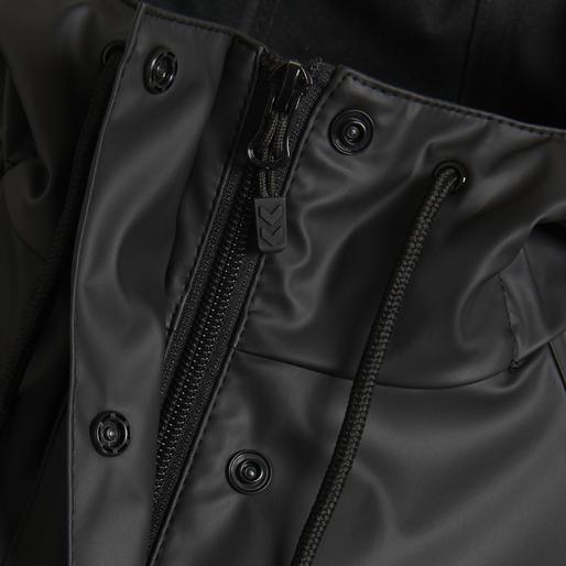 hmlJOY RAIN COAT, BLACK, packshot