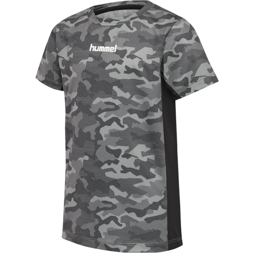 hmlRUSSEL T-SHIRT S/S, WET WEATHER, packshot