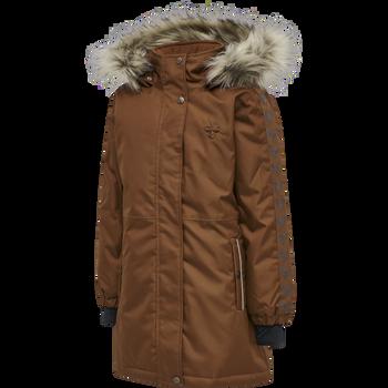 hmlLEAF COAT, TORTOISE SHELL, packshot
