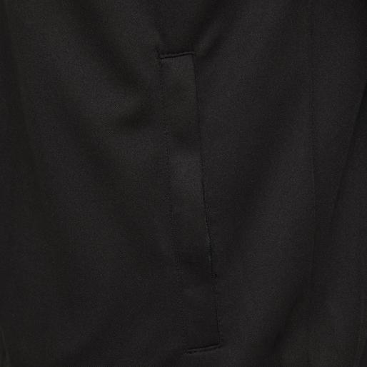 hmlARNE ZIP JACKET, BLACK, packshot