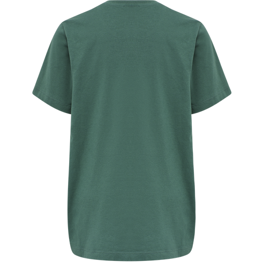 hmlTRES TEE SHIRT S/S, MALLARD GREEN, packshot