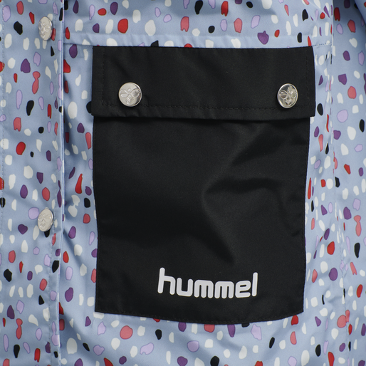 hmlLAPLI JACKET, BLUE FOG, packshot