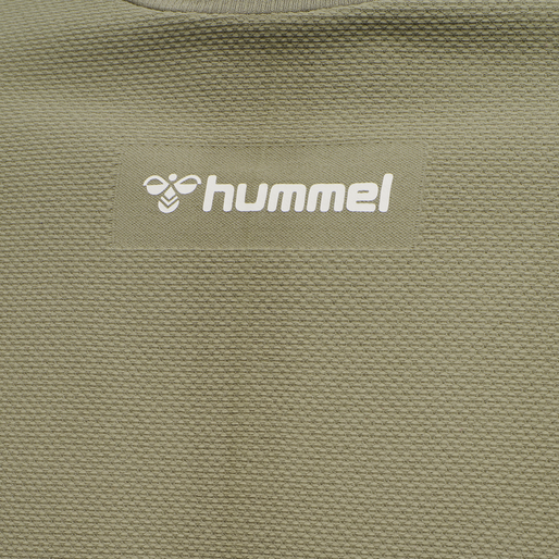 hmlCUBE SEAMLESS T-SHIRT, VETIVER, packshot