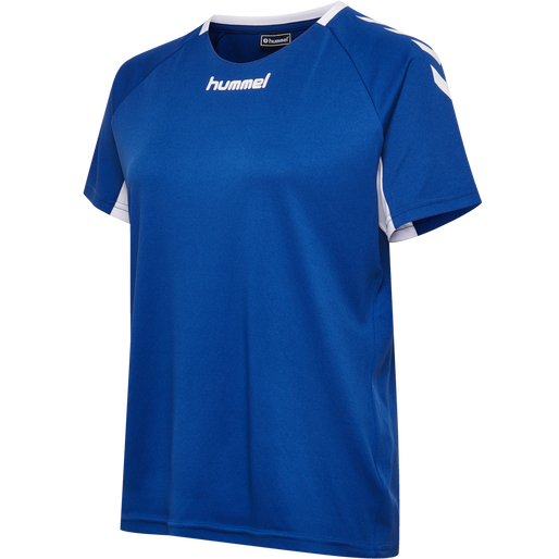 CORE TEAM JERSEY WOMAN S/S, TRUE BLUE, packshot