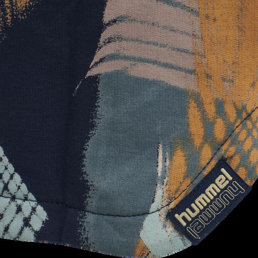 hmlBINA DRESS L/S, BLACK IRIS, packshot