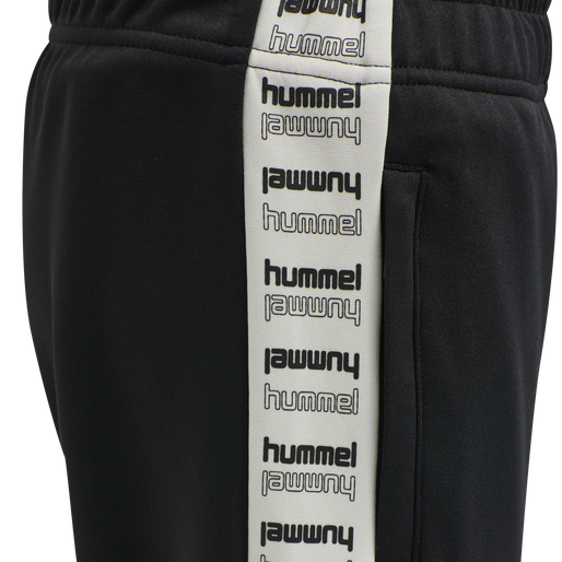 hmlBRICK PANTS, BLACK, packshot