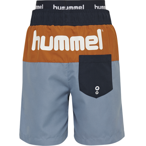 hmlGARNER BOARD SHORTS, COPEN BLUE, packshot