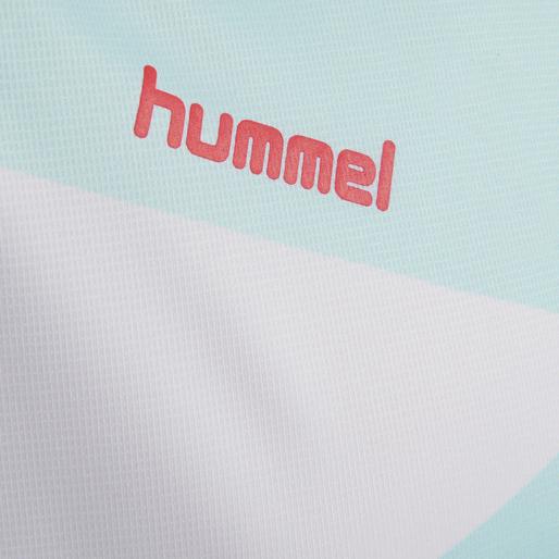 HUMMEL COURT JERSEY S/S, ICED AQUA, packshot