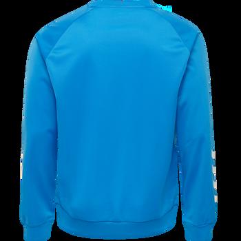 hmlPROMO POLY SWEATSHIRT, DIVA BLUE, packshot