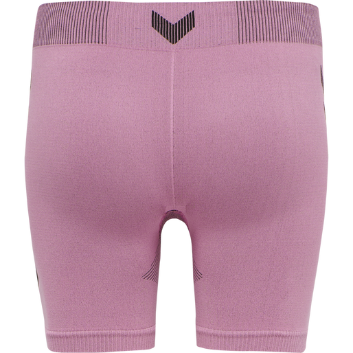 hmlFIRST SEAMLESS TRAINING SHORT TIGHTS WOMEN, COTTON CANDY, packshot