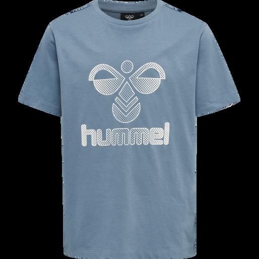 hmlPROUD T-SHIRT S/S, BLUESTONE, packshot