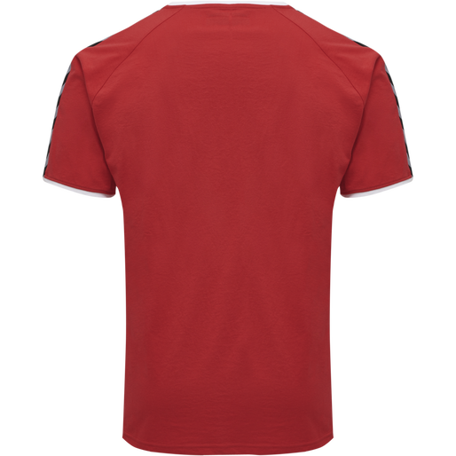 hmlAUTHENTIC TRAINING TEE, TRUE RED, packshot