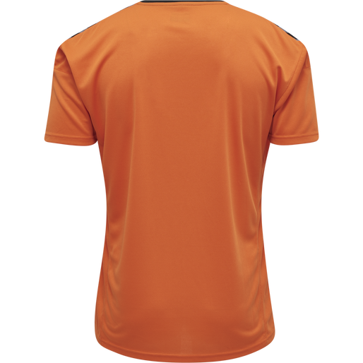 hmlAUTHENTIC POLY JERSEY S/S, TANGERINE, packshot