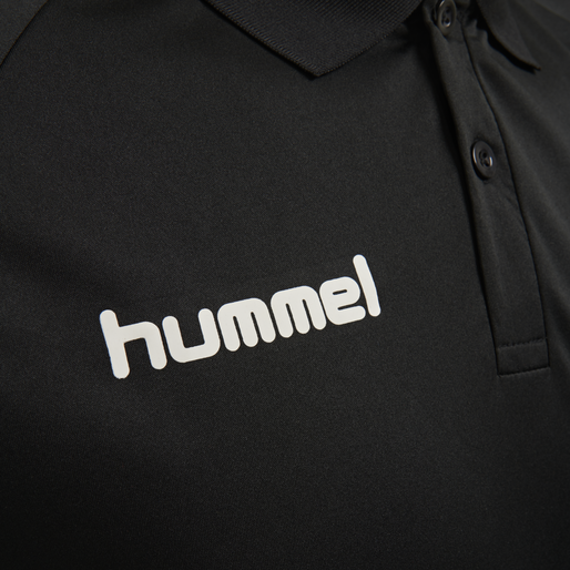 hmlPROMO KIDS POLO, BLACK, packshot