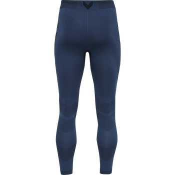 hmlFIRST SEAMLESS TRAINING TIGHTS, DARK DENIM, packshot