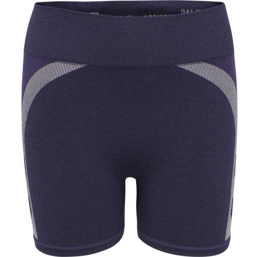 hmlHARPER SEAMLESS TIGHT SHORTS, OMBRE BLUE , packshot