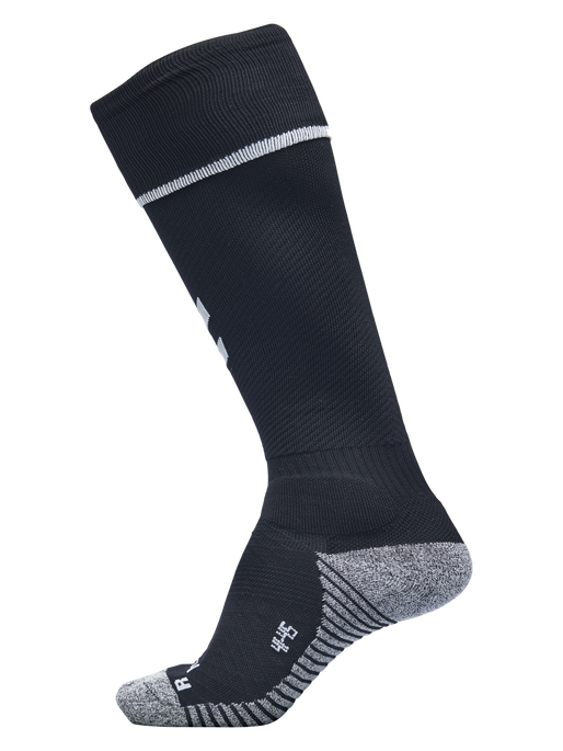 PRO FOOTBALL SOCK, BLACK/WHITE, packshot