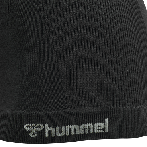 hmlTIF SEAMLESS TOP, BLACK, packshot