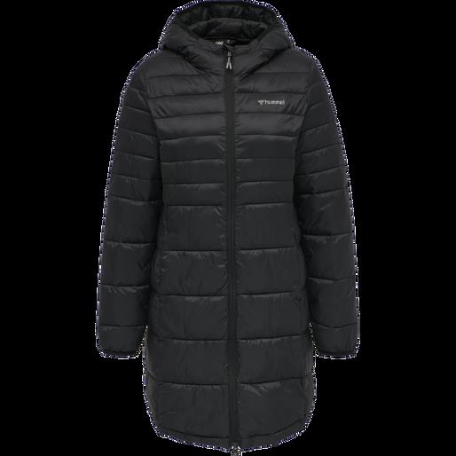 hmlPHILA PUFF COAT, BLACK, packshot