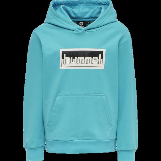 hmlMONO HOODIE, SCUBA BLUE, packshot